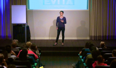350 attendees at Evolving Out Loud; Maid to Made: How to make your dreams a reality against all odds
